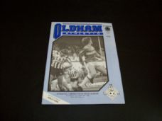 Oldham Athletic v Brighton & Hove Albion, 1985/86
